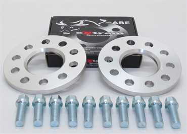 Spurverbreiterung Set 10mm inkl. Radschrauben für VW T5