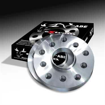 Novus NJT Alu Spurverbreiterung 40mm LK 4x100 / 4x108 für AUDI/BMW/SEAT/SKODA/VW mit ABE