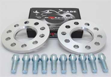Spurverbreiterung Set 10mm inkl. Radschrauben für BMW 5er E39
