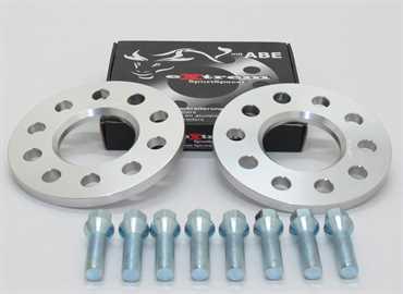 Spurverbreiterung Set 10mm inkl. Radschrauben für Opel Astra H