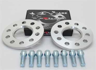 Spurverbreiterung Set 10mm inkl. Radschrauben für Opel Corsa D