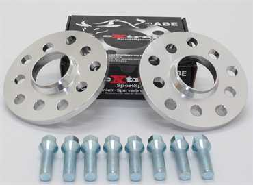 Spurverbreiterung Set 20mm inkl. Radschrauben für Opel Tigra A