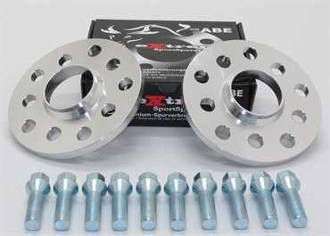 Spurverbreiterung Set 20mm inkl. Radschrauben für Opel Meriva A 1.7 CDTi