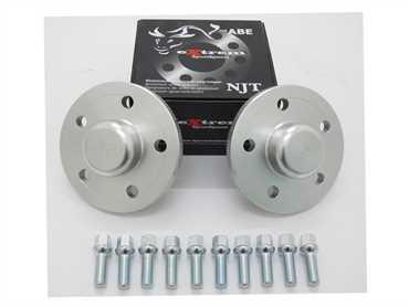 Spurverbreiterung Set 20mm inkl. Radschrauben für Mercedes C-Klasse / C55 AMG (203)
