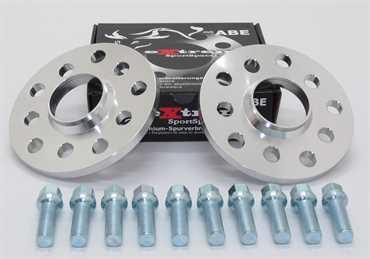 Spurverbreiterung Set 30mm inkl. Radschrauben für VW T5