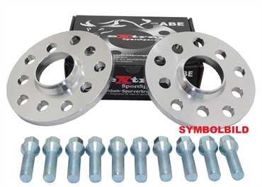 Spurverbreiterung Set 30mm inkl. Radschrauben für Alfa 159 / Spider / Brera / Sport / 939